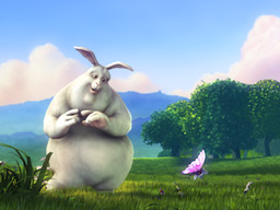 Big Buck Bunny, Copyright Blender Foundation
